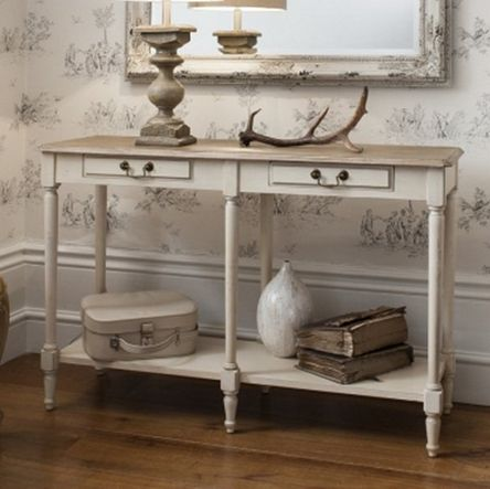 Florence Double Console Table - £399.00 - Hicks and Hicks