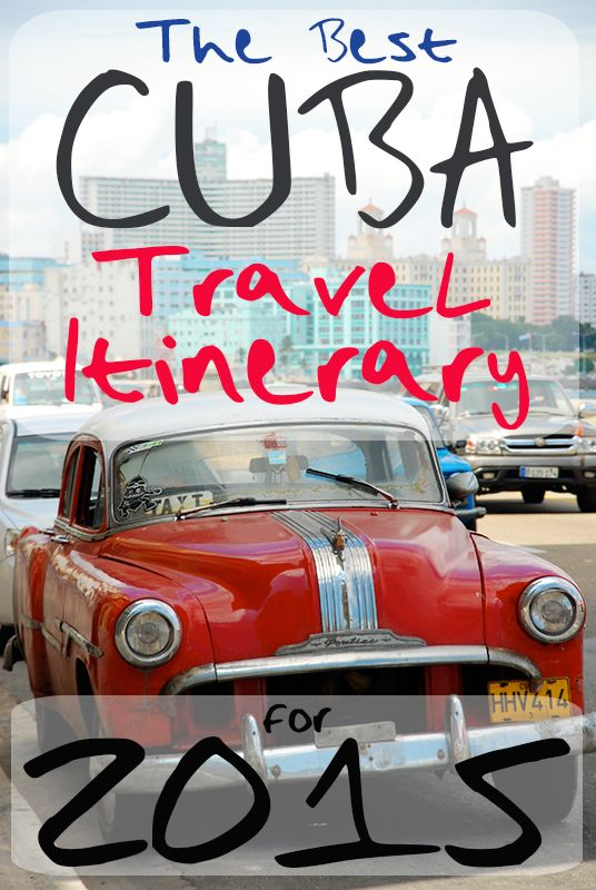 Travel to Cuba in 2015!: