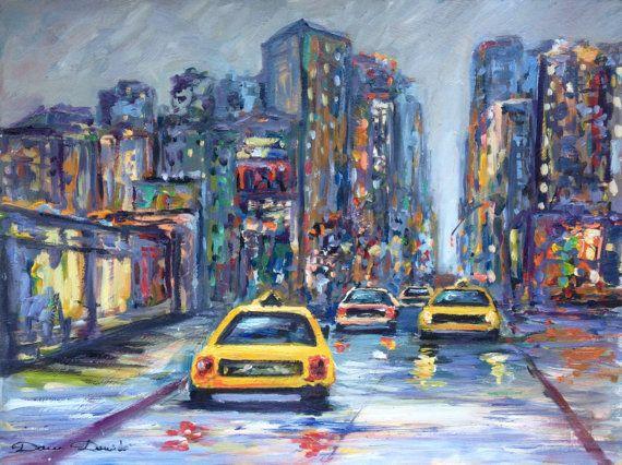 39 best Urbans landscape Peintures urbaines par Dam Domido images on ...