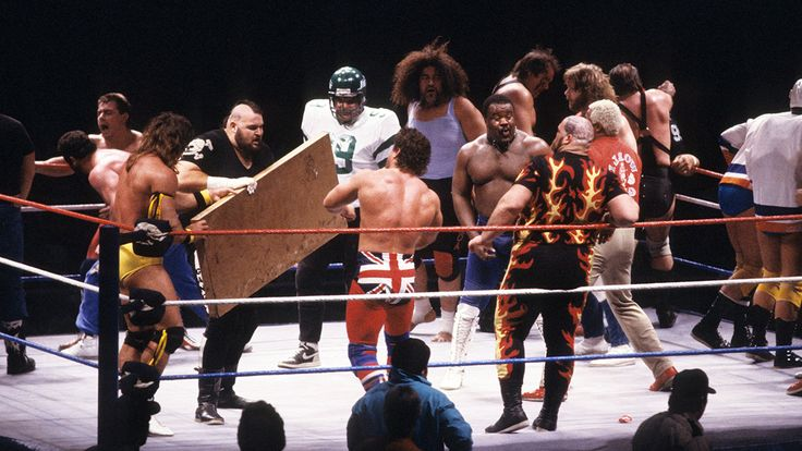 Rewatching 'Rumble' through the years to see which wrestlers got the crowd m...