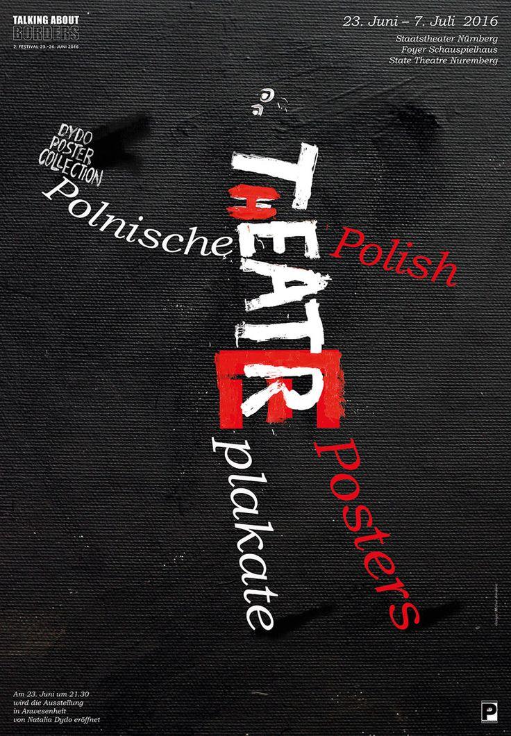 Michał Jandura, Polnische Theaterplakate - Exhibition poster, 2016