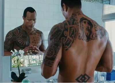 Samoan - pictured is The Rock, Dwayne Johnson