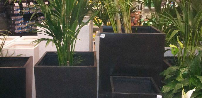 lightweight terrazzo planters