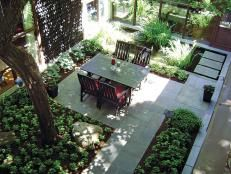 Check out these HGTV photos of intimate, cozy courtyards and get inspired to add one to your home.
