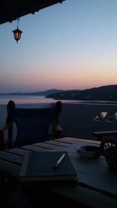 Balconies with great sea view Skyros Island Greece Thalassia.gr
