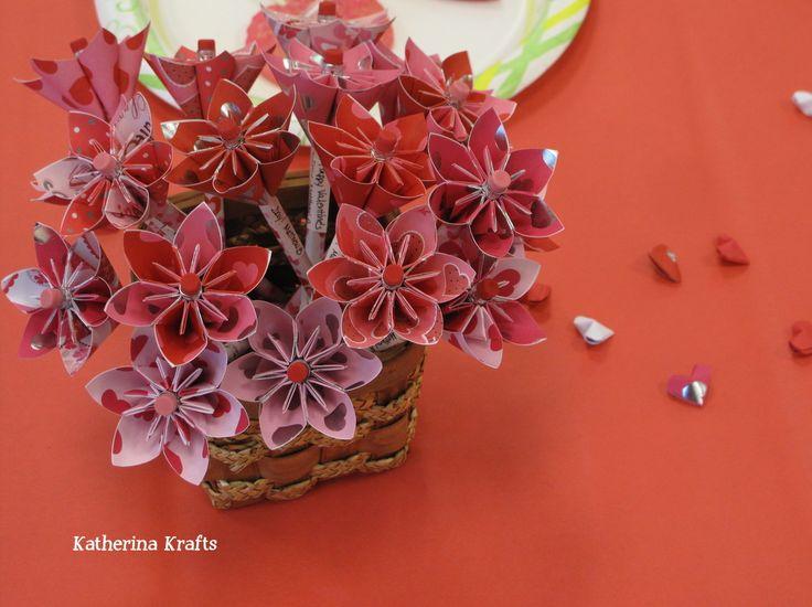 origami valentine - Google Search