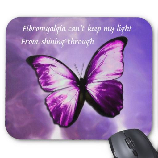 Nice fibromyalgia butterfly   Fibromyalgia Purple Butterfly Mouse Pad 3