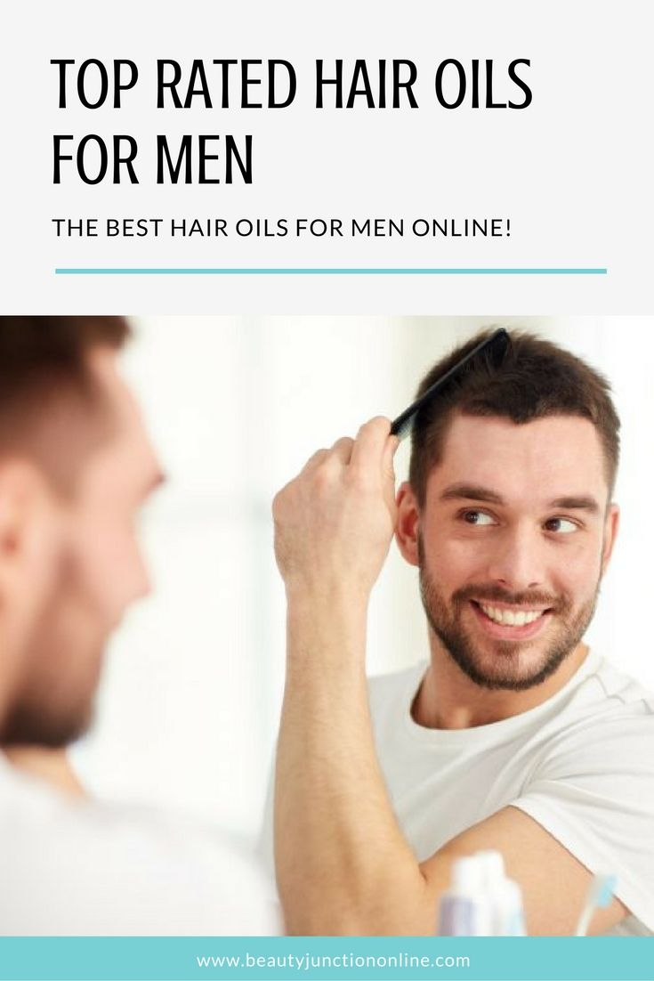 Uncover the best hair oils for men available online!