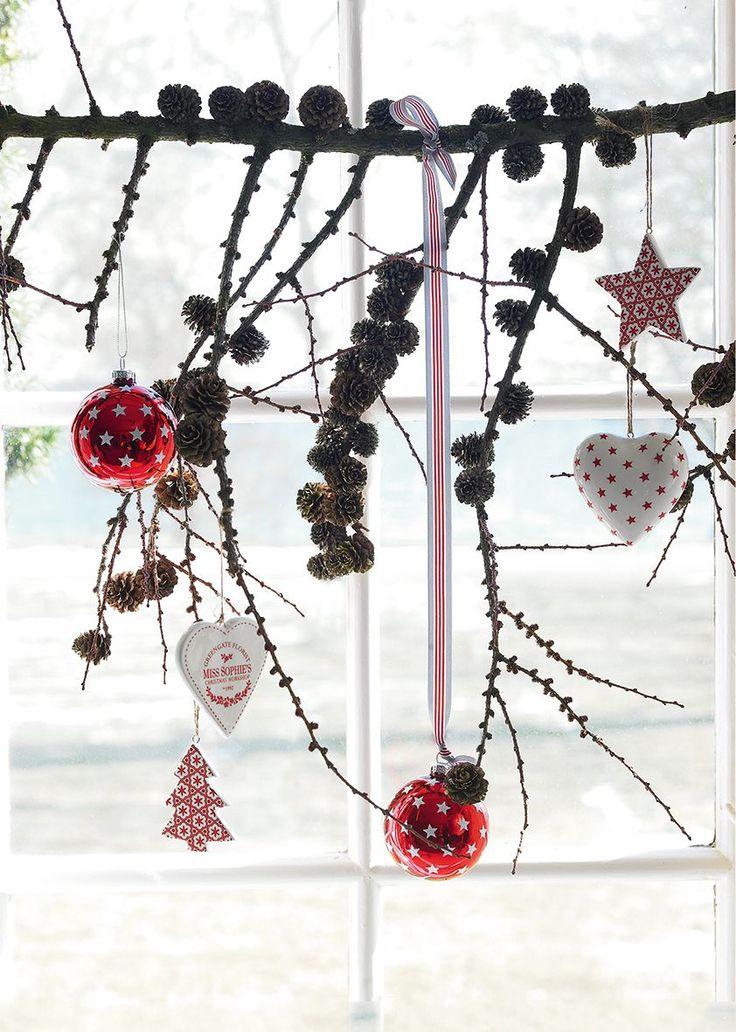 Greengate Christmas   Schöne Weihnachtsdeko. So ähnlich Werde Ich Dieses  Jahr Unser Küchenfenster Dekorieren.