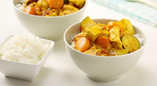 Sweet Chicken Curry Recipe - weightloss.com.au