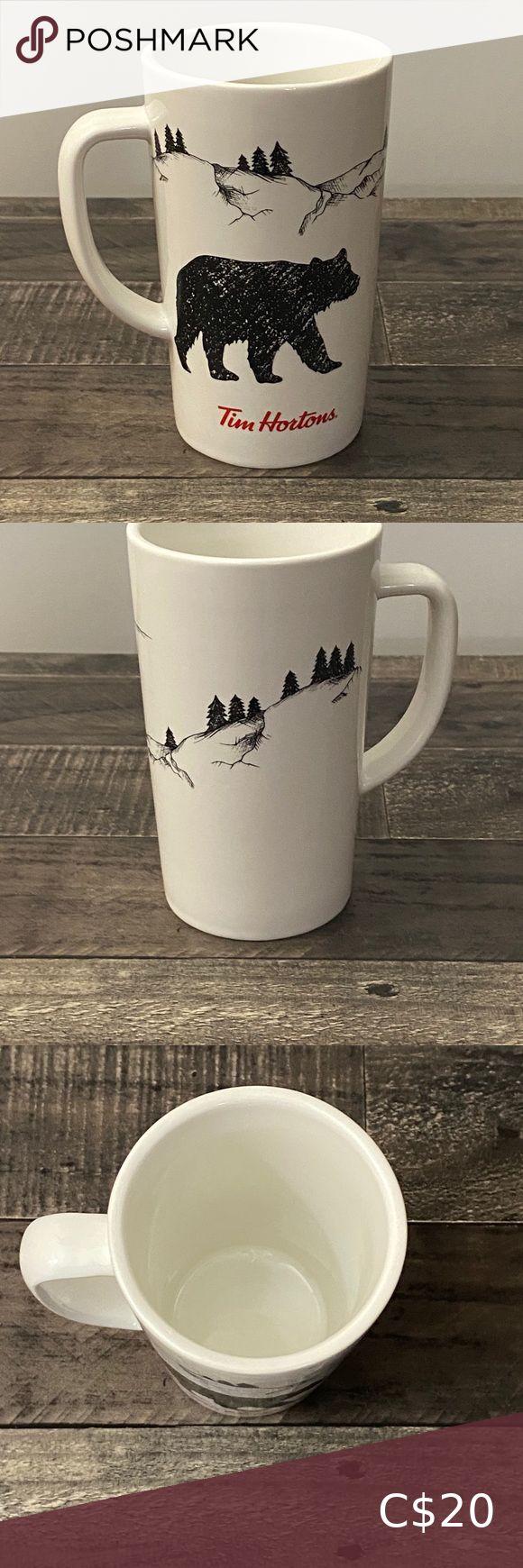 Tim Hortons 2018 Wilderness Art Mug in 2020 Tim hortons