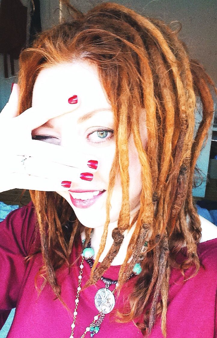 And then this happened. I turned in to a ginger .