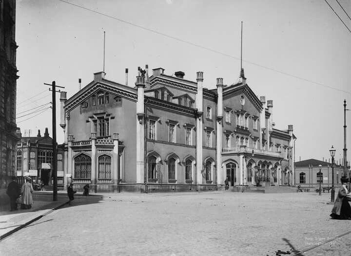 Carl August Edelfelt Helsingin rautatieasema
