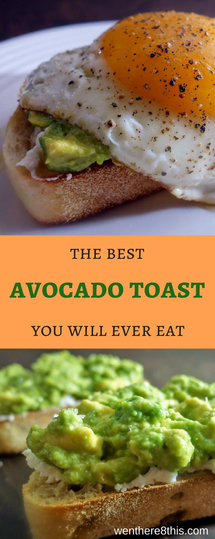 Learn how to make the best avocado toast you will ever eat. Tired of paying $15 for avocado toast when you go out? Well, here you can make your own avocado toast at home, and it will be just as good (probably better) than that restaurant version. breakfast recipes, avocado toast recipes, avocado toast easy, avocado recipes, brunch recipes, fried egg easy, learn how to make avocado toast, homemade avocado toast easy, healthy recipes, healthy avocado toast recipe, easy avocado toast