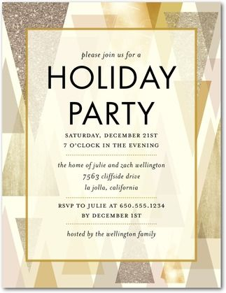 Stunning Stand - Party Invitation Postcards in Eggshell   Hello Little One