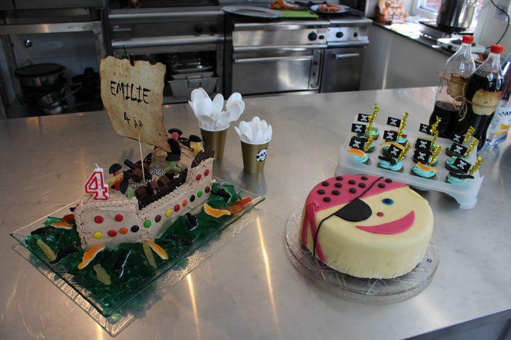 Sjørøver kaker