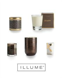 Giveaway: a treasury of ILLUME candles in Woodfire scent + a $100 terrain giftcard!