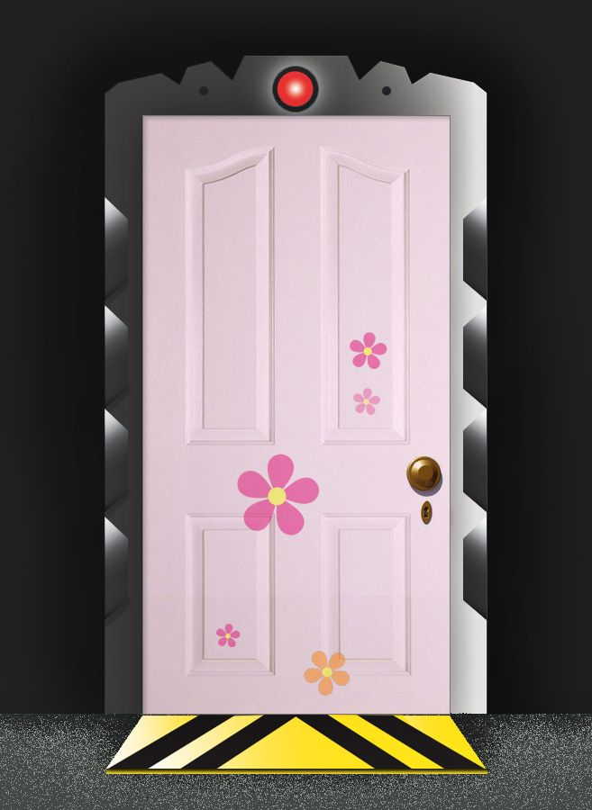 Boo S Room Door