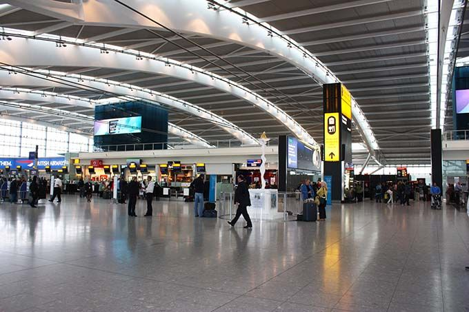 Aeropuerto de Heathrow, Londres.