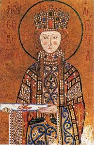 Irene Doukaina (born in Constantinople in c.1066 – February 19, 1138) was an Eastern Roman Empress by marriage to the emperor Alexios I Komnenos, and the mother of the emperor John II Komnenos and of the historian Anna Komnene.