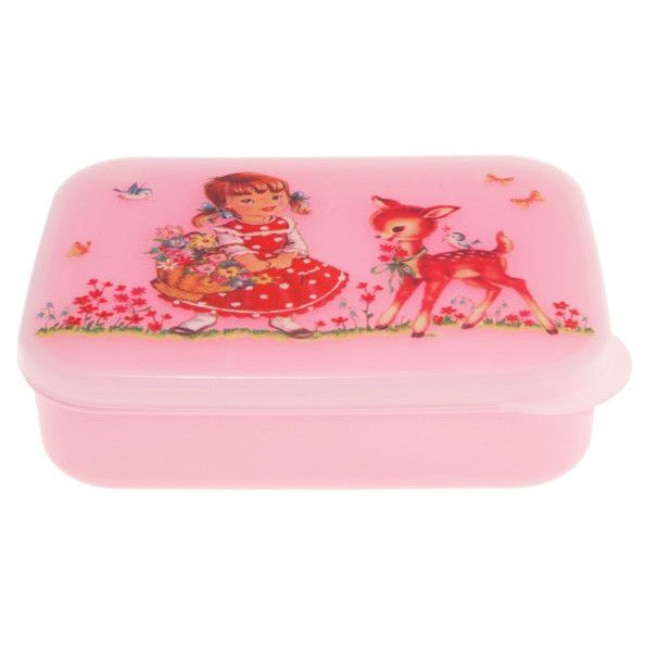 Vintage Girl Pink Lunch Box – My Messy Room