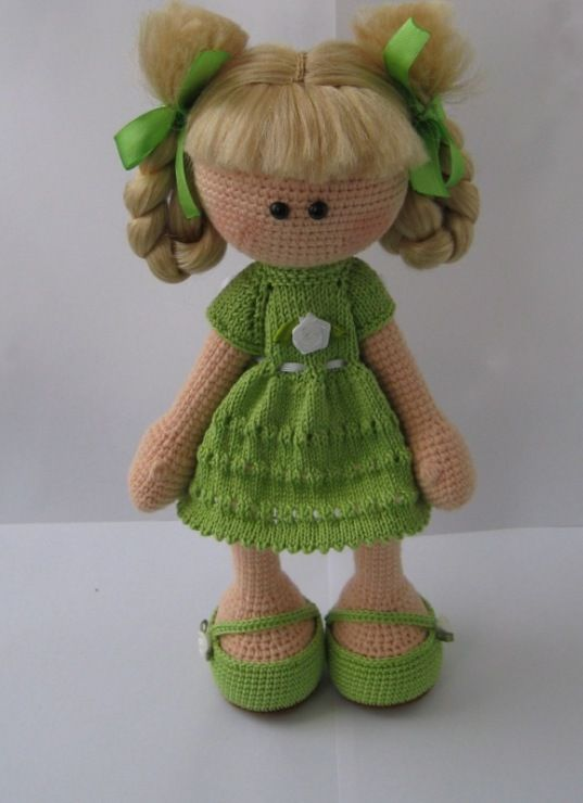 I don't see myself ever crocheting a doll, but this is adorable / Фото #14 - Куклы - Sultanovna