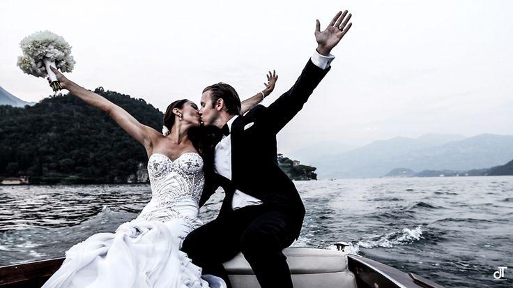 Amazing wedding on Lake Como www.danielatanzi.com From New York to Lake Como