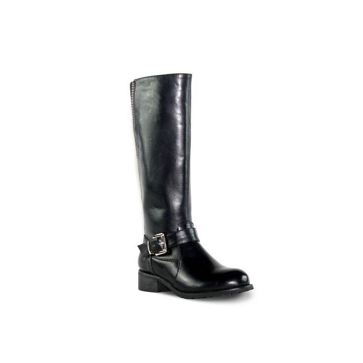 Olivia Miller Hudson Women's Riding Boots, Teens, Size: 8.5, Black