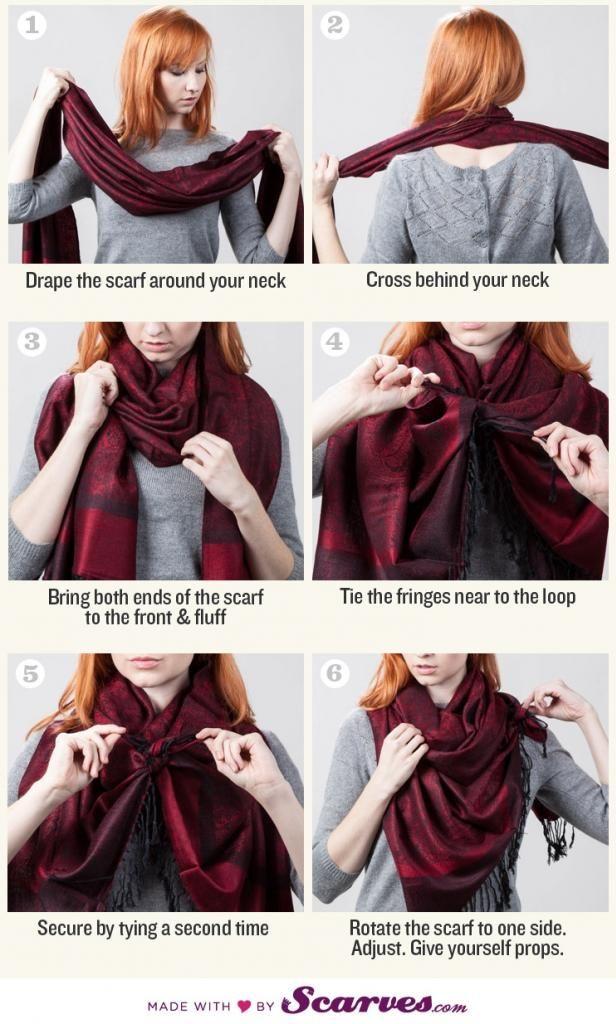 More #scarf tying ideas via @Polarbelle