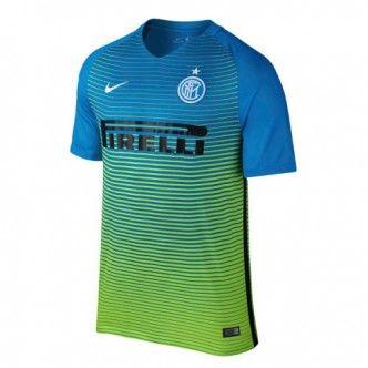 16-17 Inter Milan Third Away Blue Thailand Fans Soccer Jersey