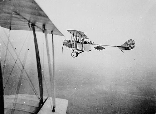 1917: Curtiss JN-4 aircraft C332 of the Royal Flying Corps Canada / Avion Curtiss JN-4 C332 du Royal Flying Corps Canada