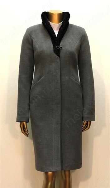 Женские утепленные пальто на искусственном меху