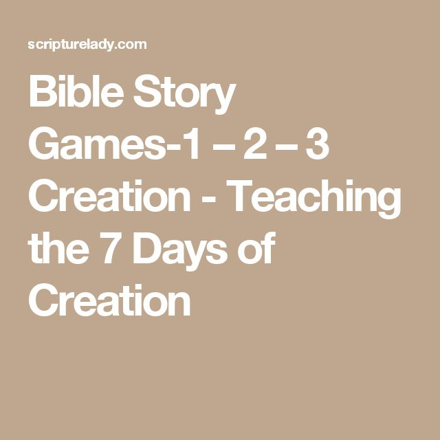 17 Best ideas about 7 Days Of Creation on Pinterest | Creation ...