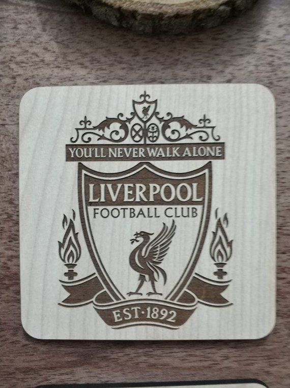 Chelsea Badge Fridge Magnet Football Soccer Handmade Laser Cut Wood Gift