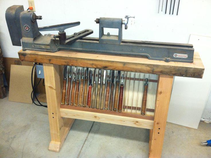 Wood Lathe Stands Workshop Ideas Pinterest Wood