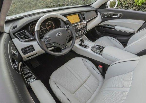 2015 Kia K900 Luxury Interior 600x427 2015 Kia K900 Full Reviews with Images