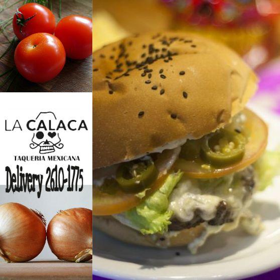 Finalmente Sexta-feira! vehna a disfrutar uma #Hambúrguer, vamos esperar por você no #LaCalacaTaqueria!!! #TGIF #LoveFood #Food #FridayNight