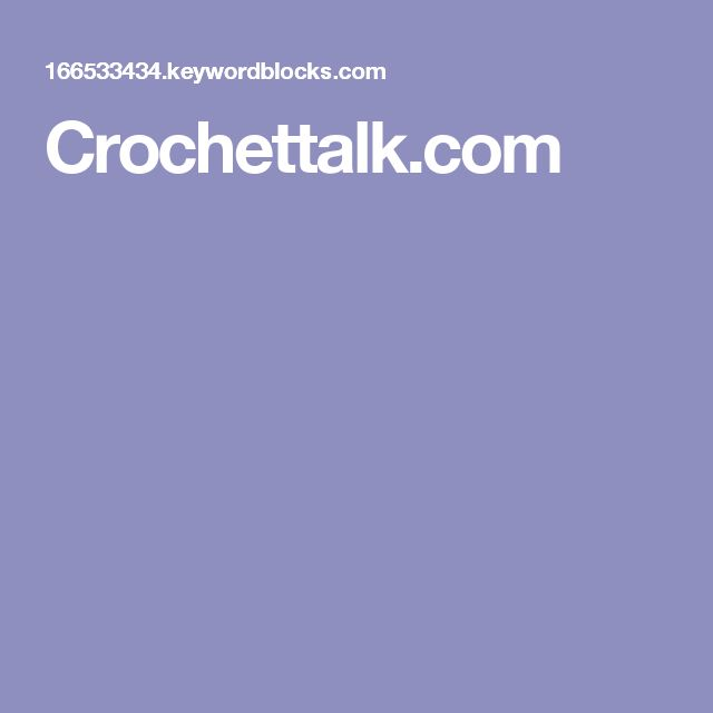 Crochettalk.com