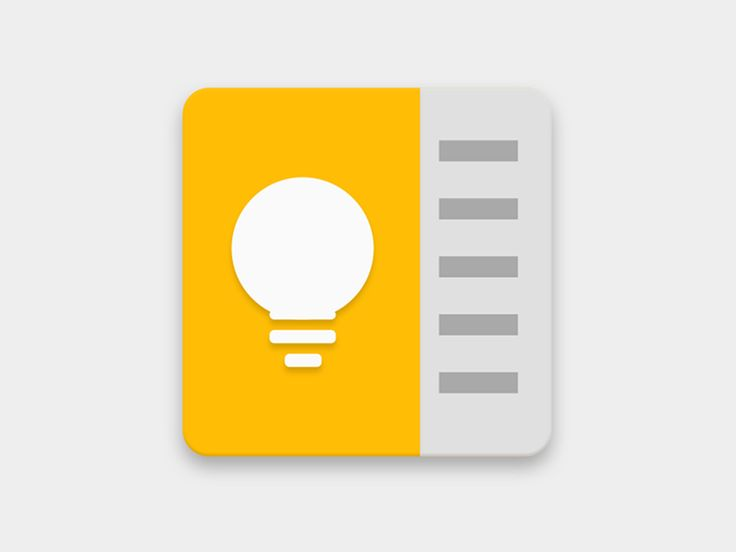 @MaterialUp : Google Keep Icon   Icon by @VladSobipan  https://t.co/iSdoa2WBlt https://t.co/FvB1ZvSghB