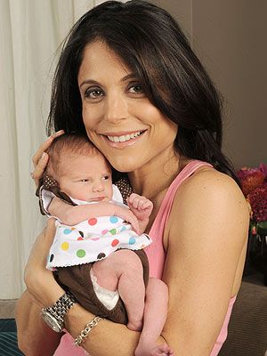 Bethenny Frankel and baby Bryn...I stole her tag line because it is such a strong statement. You can have career, family and ultimately happiness...you just have to believe!