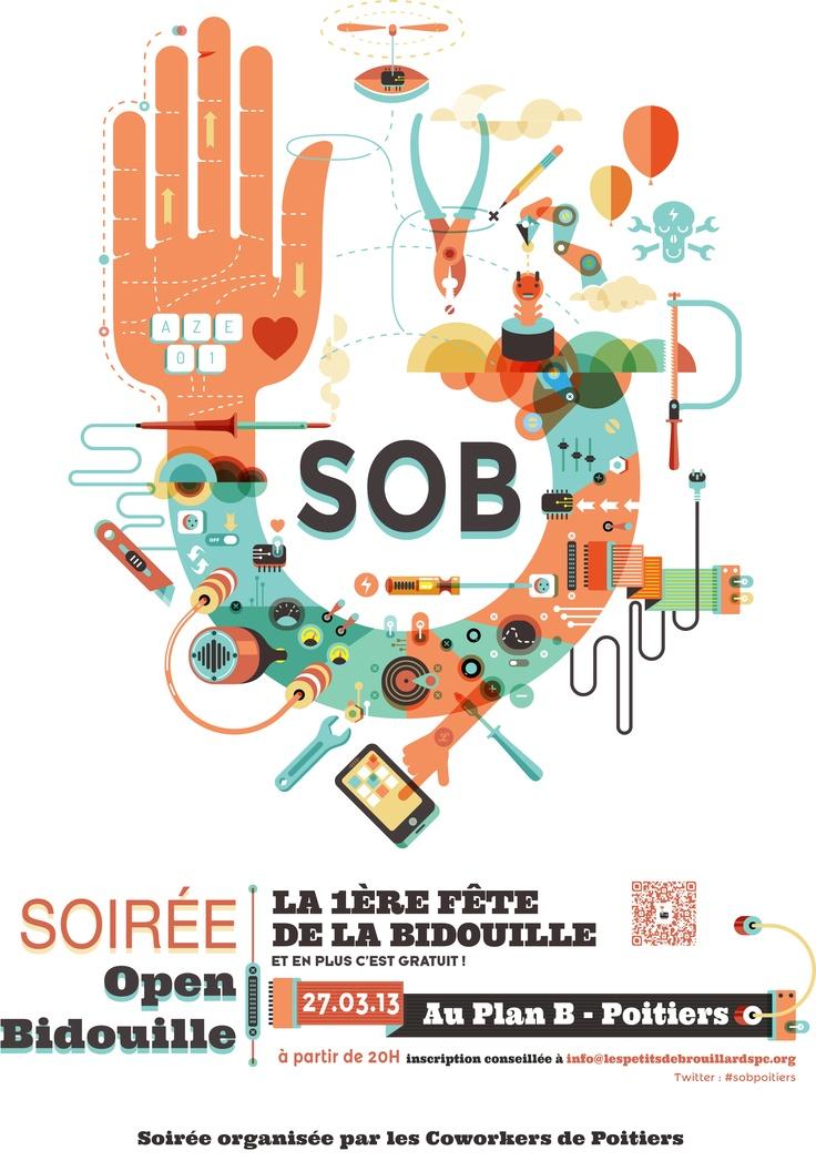 Soirée Open Bidouille - Les Petits Débrouillards Poitou-Charentes