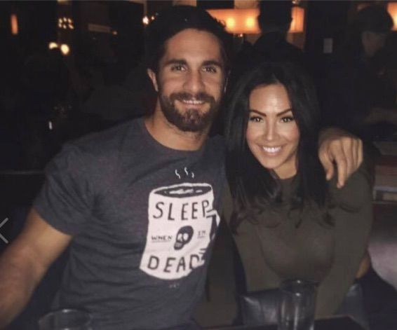 WWE Superstar Seth Rollins (Colby Lopez) and his girlfriend Sarah Alesandrelli #WWE #wwecouples