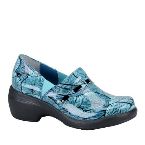 Nurse Mates Leather Stain Resistant Lace Up Shoes