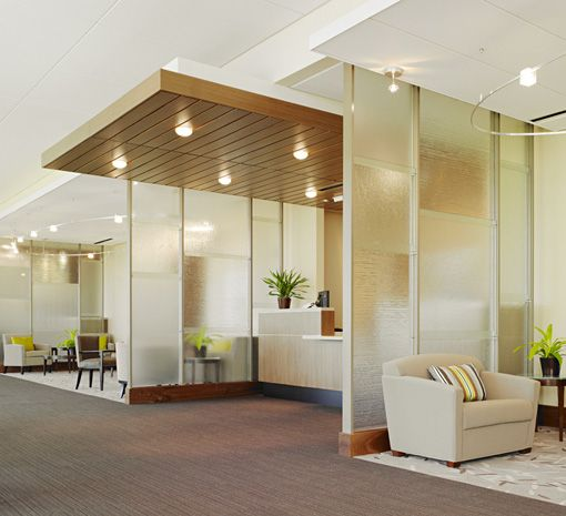 Anshen + Allen did a great job taking advantage of natural light at Stanford Medicine Outpatient Center