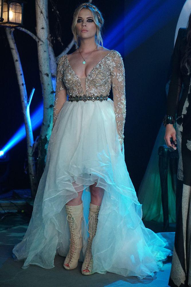 Hanna PLL- wedding hair and makeup inspiration