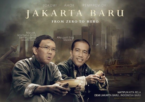 Jokowi Ahok from ZERO to HERO