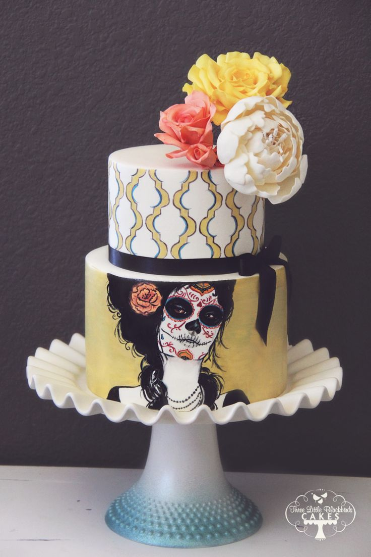sugar skull wedding cake 80 best images about dia de los muertos on 20588