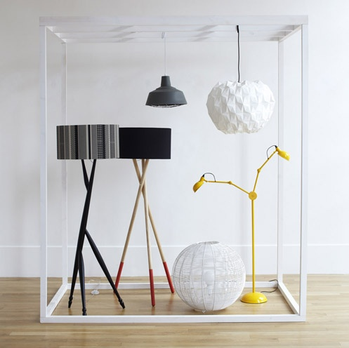 54 best lighting images on pinterest floor lamp base floor a mix of floor and ceiling lamps including the giffen floor lamp an original design aloadofball Image collections