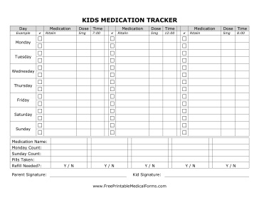 Health Medical on Free Printable For Kids To Track Healthy Eating