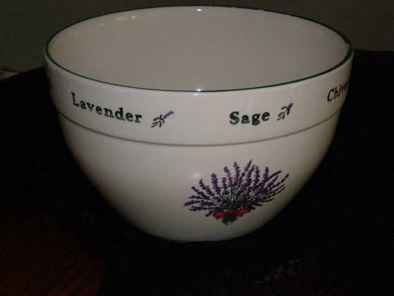 Vintage Mid Century Modern Mixing Bowl by Certified by parkie2, $48.85